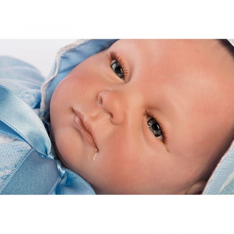 Bebé Reborn ojos abiertos