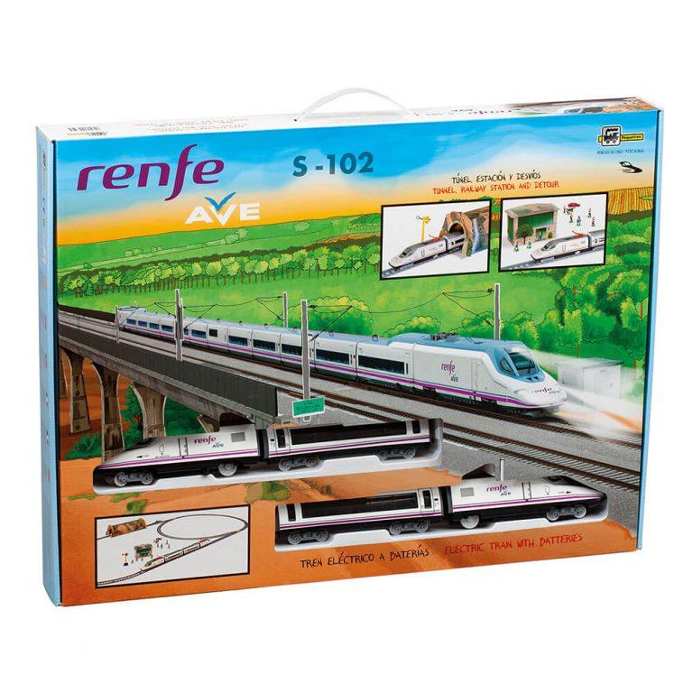 Tren Renfe modelo Ave