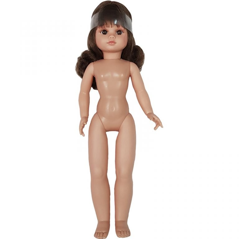 Muñeca para vestir morena flequillo