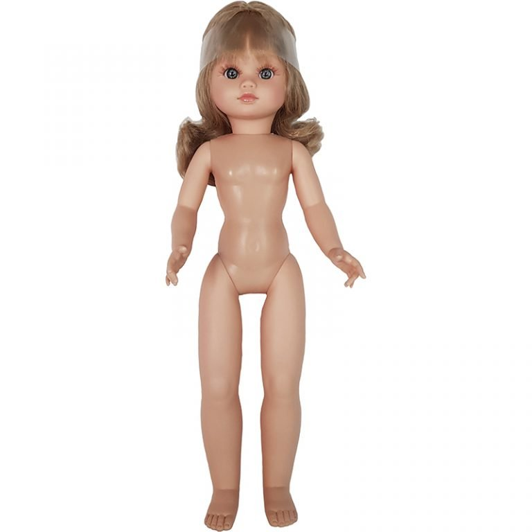 muñeca desnuda vinilo plastico