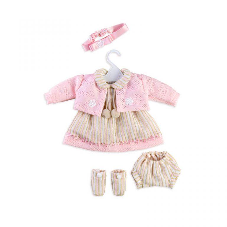 Conjunto vestido muñeca T5201