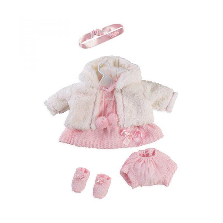 Conjunto vestido muñeca T5204