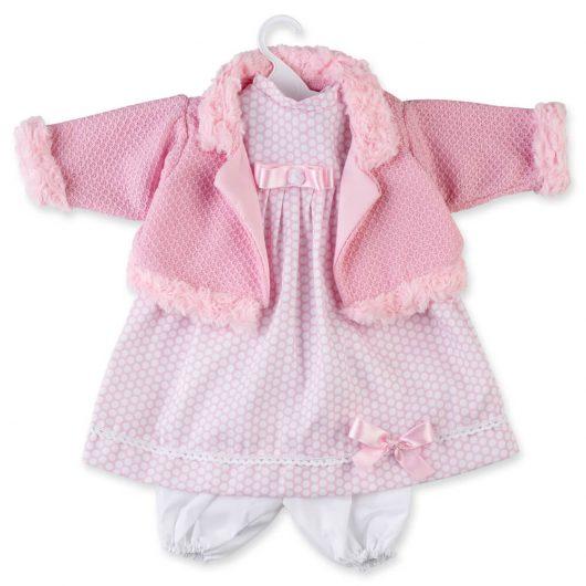Conjunto vestido muñeca berbesa T8049