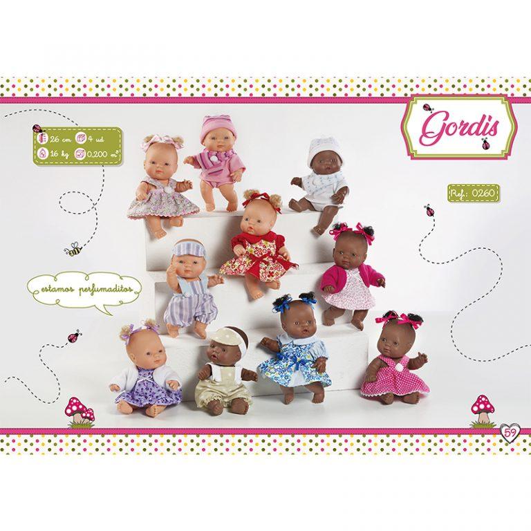 Scented Baby Fatty Dolls 26 cm