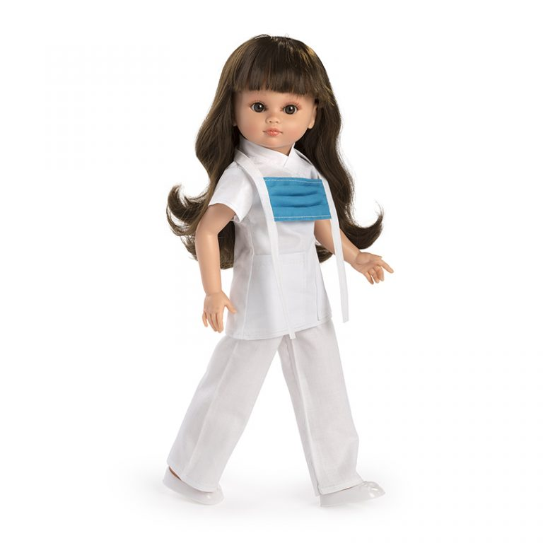 Muñeca Fany enfermera blanca 42 cm