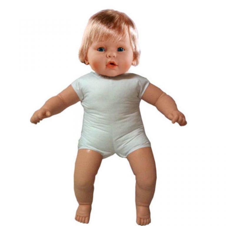 muñeca desnuda cuerpo blandito