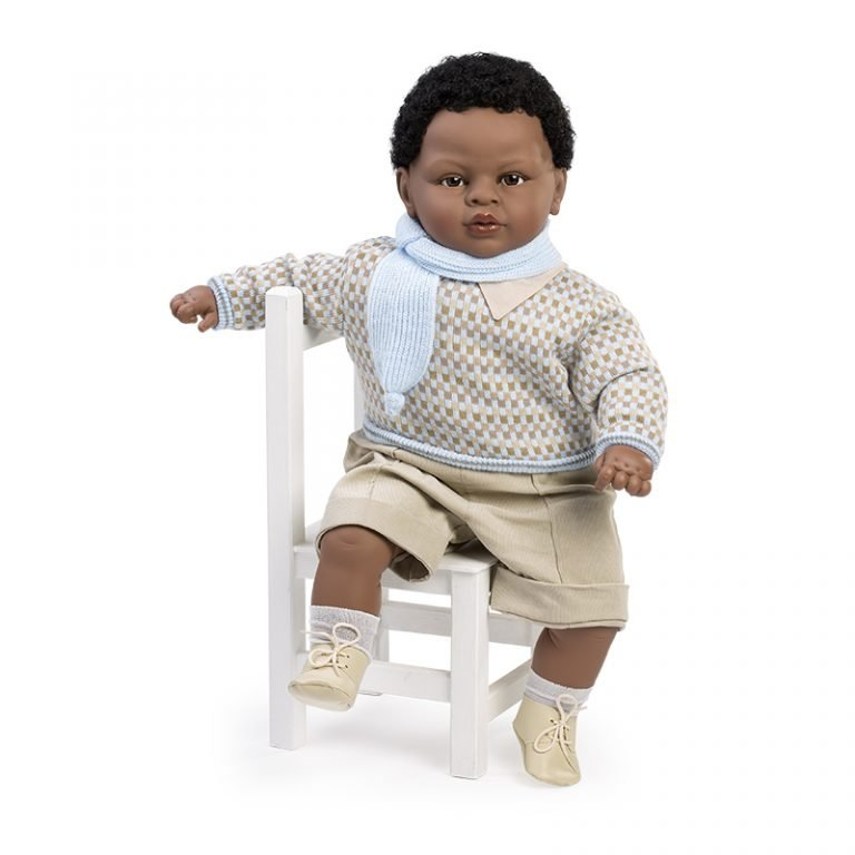 Baby dulzón lloron mulato bufanda 62 cm