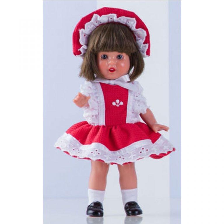 Mini Mariquita Pérez vinyl collector's doll 21cm